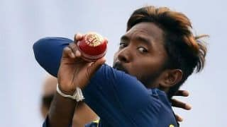 Akila Dananjaya suspended from bowling after ICC finds action illegal
