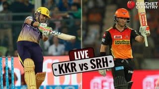 Highlights, KKR vs SRH, IPL 10, Match 14: KKR win by 17 runs