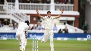 James Anderson takes his 100th wicket at Lord's; Joins elite list