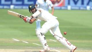 India vs England 2014 1st Test, Day 1: Vijay, Pujara steady India; score 71/1