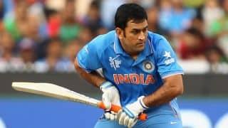 Ajinkya Rahane and MS Dhoni bring up 50-run stand against Australia in ICC Cricket World Cup 2015 semi-final