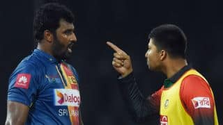 Sumathipala calls Bangladesh players behaviour 'regrettable and unacceptable'