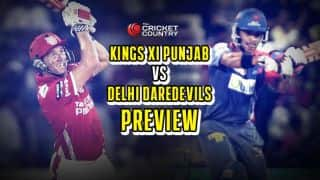 KXIP vs DD, IPL 2015, Preview: KXIP look to build on win as DD search for maiden win