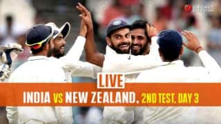LIVE Cricket Score, India Vs New Zealand, 2nd Test 2016, Day 3: IND lead by 327 runs