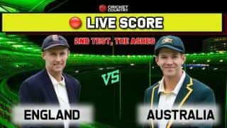 Live score: England vs Australia, Ashes 2019 2nd Test Day 2: Australia 30/1 at stumps, trail England by 228 runs