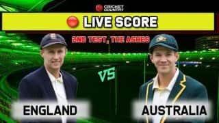 Live score: England vs Australia, Ashes 2019 2nd Test Day 2: Australia 30/1 at stumps, trail England by 228 runs