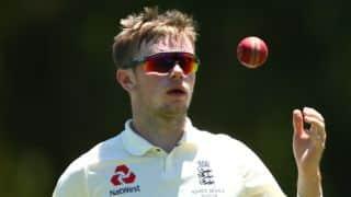 Ashes 2017-18: Mason Crane likely to play Sydney Test