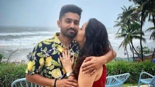 She said YES: Karun Nair announces engagement to long-time girlfriend