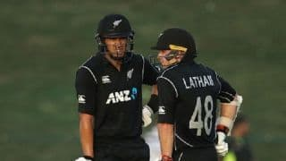 1st ODI: Ross Taylor, Tom Latham guide New Zealand to 266/9 against Pakistan