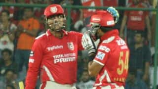 Kings XI Punjab book place in IPL 2014 play-offs with 4-wicket win over Delhi Daredevils