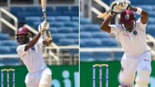 India vs West Indies, Day-4, Lunch Report: Sharmarh Brooks, Jermaine Blackwook guide windies to 145/4