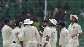 Live Cricket Scorecard: India vs Bangladesh 2015, one-off Test at Fatullah, Day 5