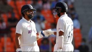 LIVE SCORE, India vs England, 4th Test: रोहित-पुजारा टिके, स्टंप तक भारत 24/1