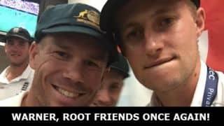 Ashes 2015: David Warner, Joe Root friends once again!