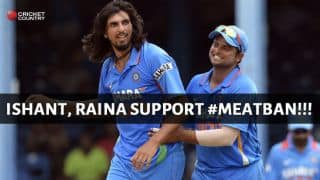 India cricketers Ishant Sharma, Suresh Raina among those to extend support to #meatban in Mumbai