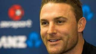 Brendon McCullum turns 33