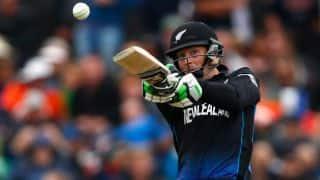 BAN vs NZ, ICC World Cup 2015: Martin Guptill dismissed by Shakib Al Hasan
