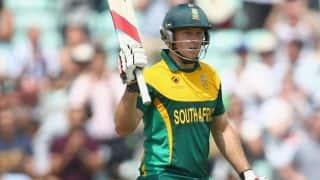 David Miller registers fastest T20I century