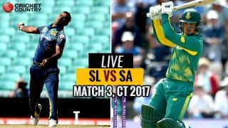 Highlights, CT 2017, SL vs SA, Match 3: South Africa win by 96 runs