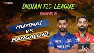 Match highlights: IPL 2019, Mumbai Indians vs Royal Challengers Bangalore, full score and results: Lasith Malinga, Hardik Pandya star in MI's five-wicket win