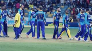 GAW 161/4 in 19.3 Ovs | Live Cricket Score, BT vs GAW, CPL 2016, Match 28 at Florida
