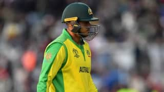 Usman Khawaja will miss the rest of the World Cup: Justin Langer
