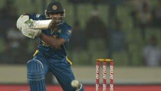 South Africa vs Sri Lanka ICC World T20 2014 Group 1: Kusal Perera departs for 61
