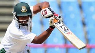 Bangladesh vs Zimbabwe 2014: Bangladesh tremble as they lose 2 more crucial wickets at Tea break