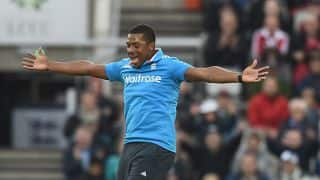 Saker hails Chris Jordan for performance against SL