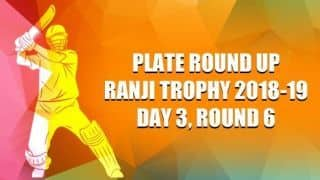 Ranji Trophy 2018-19, Plate, Round 6, Day 3: Nagaland fighting to salvage a draw against Uttarkhand
