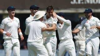 England vs Ireland, one-off Test: Tim Murtagh's five routs England for 85