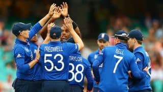Afghanistan vs England ICC Cricket World Cup 2015 Pool A match at Sydney