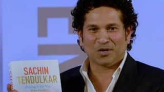 Sachin Tendulkar's autobiography 'Playing it my Way' to release on May 30 in Marathi