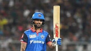 VIDEO: Dhawan 97* pushes Delhi Capitals into top-four