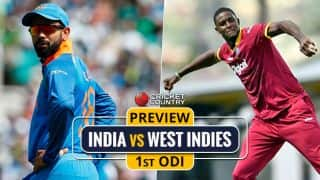IND vs WI,1st ODI preview & likely XIs: Visitors' chance to brush aside CT17 heartbreak and build for future