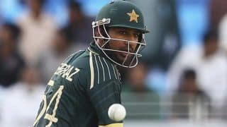 Sarfraz Ahmed makes the highest score by a Pakistan wicket-keeper in T20Is