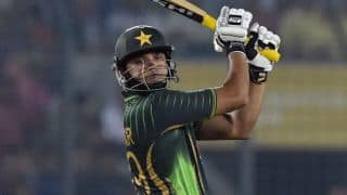 Ali dismissed for 46; PAK 115/1 after 20 overs vs Zimbabwe in 3rd ODI