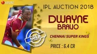 IPL 2018 Auction: Chennai Super Kings (CSK) retain Dwayne Bravo through RTM