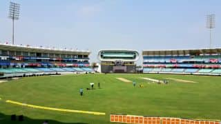 New Zealand security team visits SCA stadium in Rajkot ahead of T20I series versus India