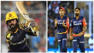 Highlights, IPL 2018, KKR vs DD, Full Cricket Score and Updates, Match No. 13 at Eden Gardens, Kolkata: KKR win by 71 runs