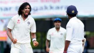 नागपुर टेस्ट, पहला दिन-श्रीलंका ने बनाए 205 रन, भारत का स्कोर 11/1