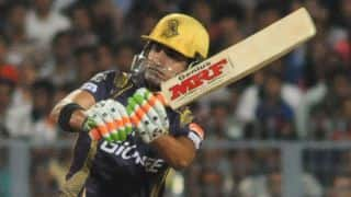 Kolkata Knight Riders look to settle down following 2 quick dismissals against Delhi Daredevils in IPL 2015