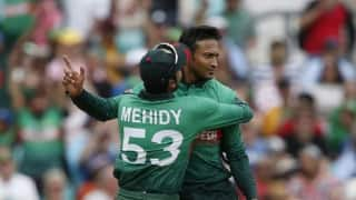 Cricket World Cup 2019: All eyes on milestone man Shakib Al Hasan as Bangladesh chase another upset against New Zealand