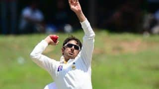 Saeed Ajmal to start remedial work on bowling action
