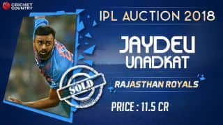 IPL 2018, Auction: Jaydev Unadkat becomes the highest paid Indian pacer ever in IPL history