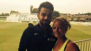 Virat Kohli meets his English 'sweetheart' Danielle Wyatt!