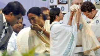 Mamata blames Sachin,Sourav and Gavaskar