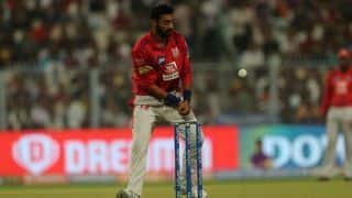 Kings XI Punjab's Varun Chakravarthy sidelined with fracture