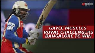 RCB clinch thriller against KKR by three wickets in IPL 2015