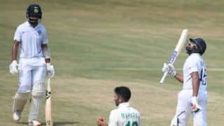 1st Test: Rohit, Pujara fifties swell India's lead